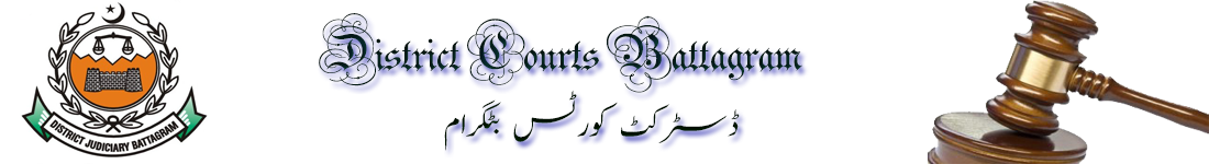 District Courts Battagram